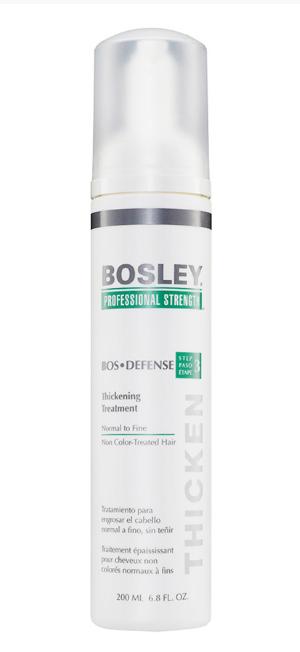 Уход, увеличивающий густоту нормальных/тонких неокрашенных волос Bosley Воs Defense Thickening Treatment To Normal To Fine Non Color-Treated Hair 200мл: фото