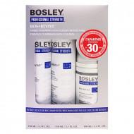 Система синяя для истонченных неокрашенных волос Bosley Bos Revive for Visible Thinning Non Color Treated Hair 150мл*2 + 100мл