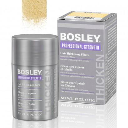 Кератиновые волокна BOSLEY Hair Thickening Fibers блондин 12г: фото