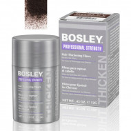 Кератиновые волокна BOSLEY Hair Thickening Fibers темно-коричневые 12г