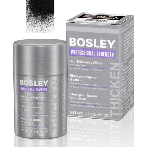 Кератиновые волокна BOSLEY Hair Thickening Fibers черные 12г: фото