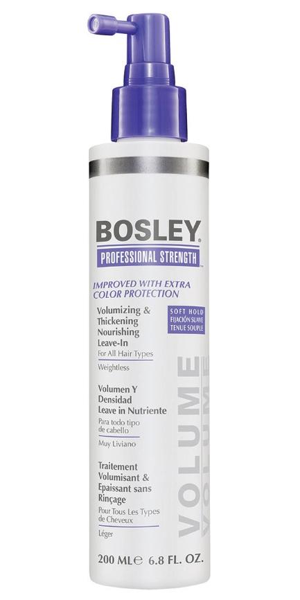 Питательное несмываемое средство для объема и густоты волос BOSLEY Volumizing Thickening Nourishing Leave-In 200мл: фото