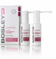 Усилитель роста волос для женщин (Миноксидил 2%) спрей Bosley For Women Hair Regrowth Spray 2% 60 мл*2