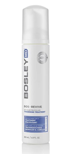 Уход-активатор от выпадения и для стимуляции роста волос (для неокрашенных волос) Bosley BosRevive Thickener for Uncolored Hair 200мл: фото